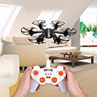 Hanbaili Mini X800 Remote Control Quadcopter Drone,Colorful Searchlight/3D Rolling/One Key Return/Gravity Control/Holiday Gift for Beginners