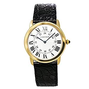 Cartier Ronde Solo quartz mens Watch W6700455 (Certified Pre-owned)