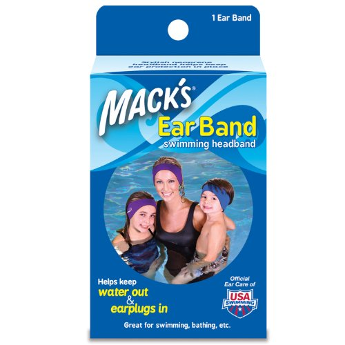 Price comparison product image Macks Ear Band Swimming Headband