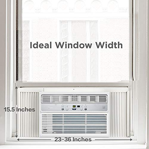 MIDEA EasyCool Window Air Conditioner - Cooling, Dehumidifier, Fan with remote control - 12,000 BTU, Rooms up to 550 Sq… 3