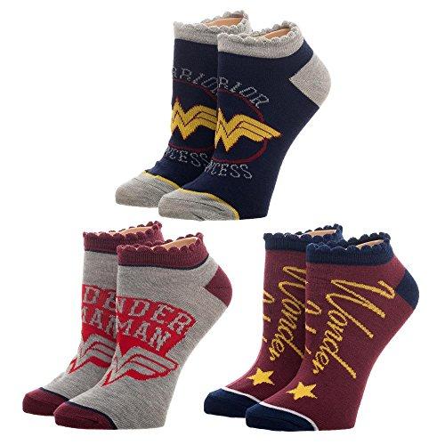 Wonder Woman Ankle Socks Wonder Woman Accessories DC Comics Socks - Wonder Woman Socks Wonder Woman Apparel