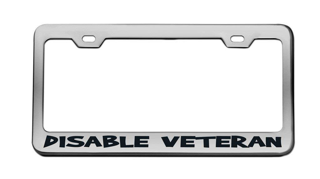 Custom License Plate Holder Decorative License Plate Frame Tag Aluminum Metal 2 Holes and Screws Funny Humor Car Tag Cover