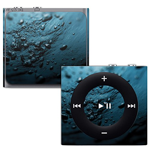 MightySkins Skin for Apple iPod Shuffle 4G - Blue Storm | Protective, Durable, and Unique Vinyl Decal wrap Cover | Easy to Apply, Remove, and Change Styles | Made in The USA (Case Shuffle Protective Silicone)