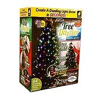Espectáculo de luces LED Star Tree Tree Dazzler de BulbHead (16 patrones de luz)
