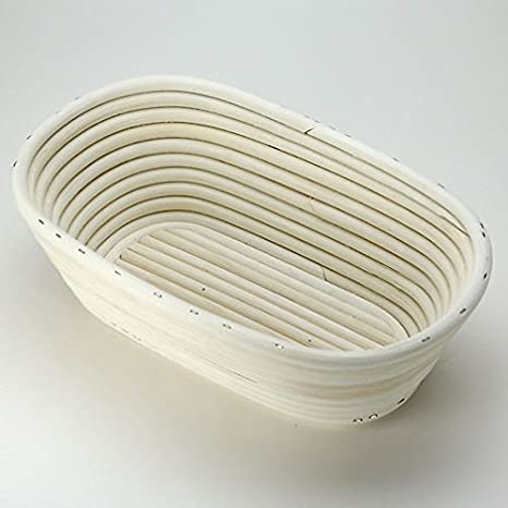 Breadtopia Rattan Proofing Baskets (Oblong)