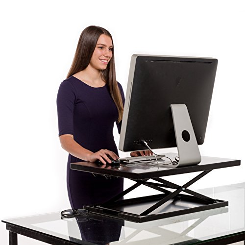 Vertical Vitality Air Glider Standing Desk - Best Sit to ...