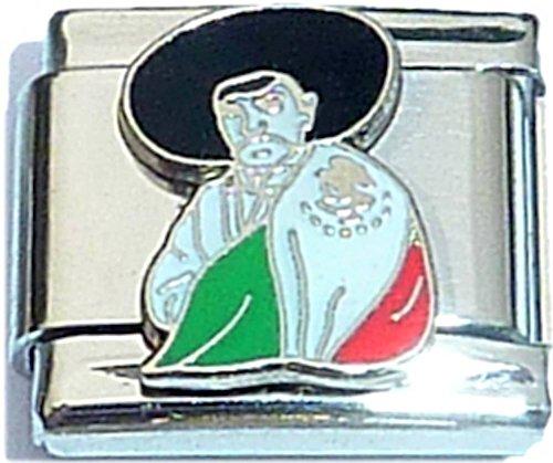 - Mexican Flag Italian Charm