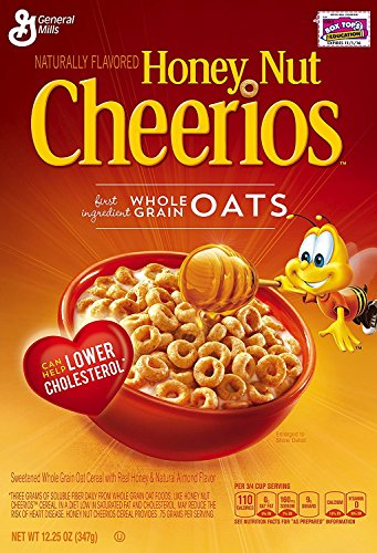 Honey Nut Cheerios 12.25 Oz (2 Boxes)
