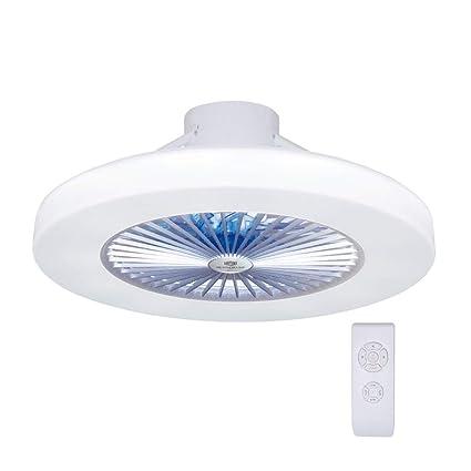 Luz del ventilador de techo, moderna LED Ventilador de techo, LED ventilador Lámpara de Techo con luz Y mando a distancia ventilador Luz de Techo ...