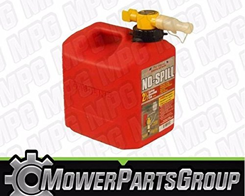 No-Spill Gas Can - 2.5 Gallon/Red by No-Spill