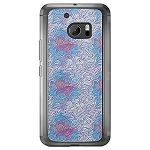 Loud Universe HTC M10 Hair Hair 19 Printed Transparent Edge Case, Multi Color