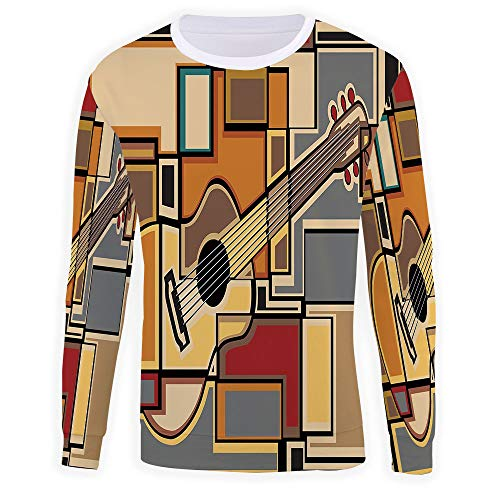 iPrint Unisex 3D,Music Decor,Pullover Sweater for sale  Delivered anywhere in USA