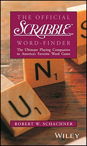 The Official Scrabble Word-Finder (Scrabble Best Word Finder Board)
