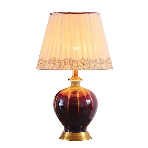 Lámparas de Escritorio Cerámica lámpara de mesa lámpara de mesa de ...