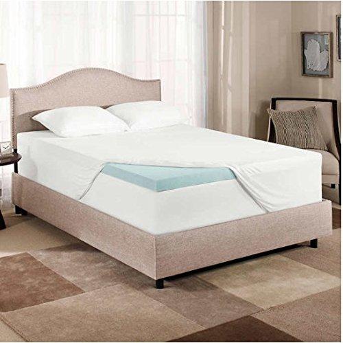 Amazon.com: Novaform Gel Memory Foam 3 Inch Mattress Topper   Twin