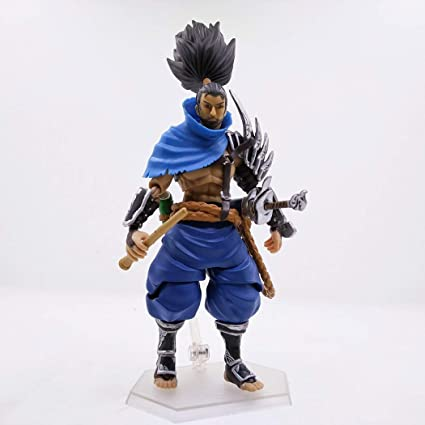 NEW LOL League Of Legends Project Unforgiven Yasuo Action Figure Statue