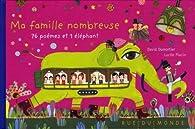 Ma famille nombreuse - 76 poèmes et 1 éléphant par David Dumortier