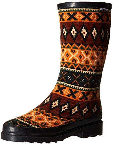 Muk Luks Mujeres Annabell Rain Shoe Black