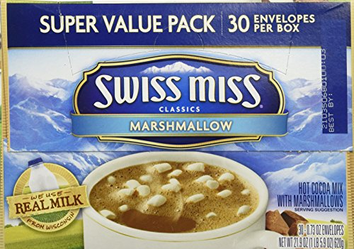 Swiss Miss Hot Cocoa with Marshmallows (21.9) (Marshmallows Miss Mini Swiss)