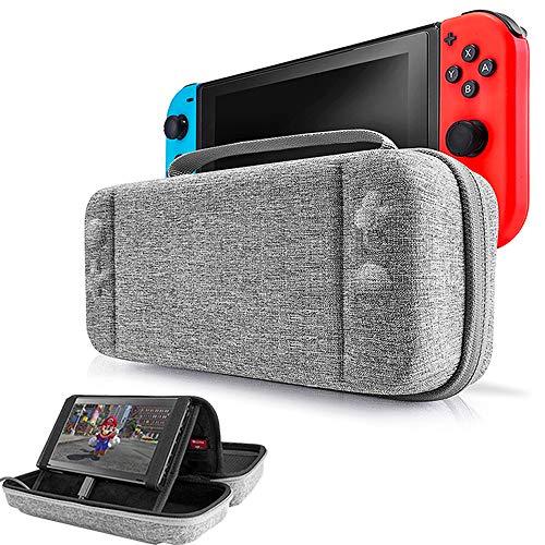 Funda para Nintendo Switch, EFFE Estuche de almacenamiento Bolsa protectora Cubierta rígida de la cubierta de la manija de...