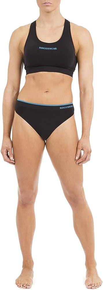 Runderwear Womens Running G-String Chafe-Free Running Underwear