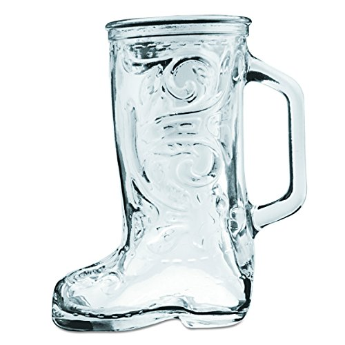 - Anchor Hocking 162U 5-1/4 Inch Diameter x 6 Inch Height, 12.5-Ounce Boot Beer Mug (Case of 24)