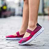 Haalife◕‿¿Women Casual Mesh Loafers Woven