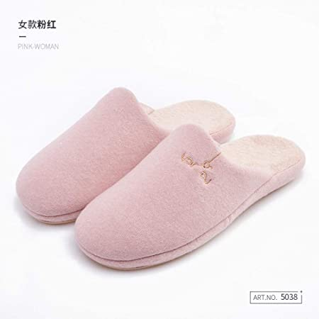 Treslin Pantofole di Cotone semplici da Donna Inverno casa