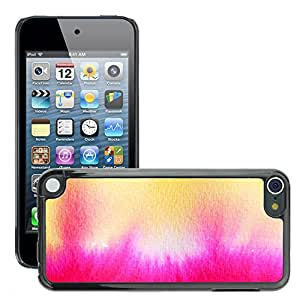 Etui Housse Coque de Protection Cover Rigide pour // M00150194 Acuarela Tusche Tinta Wet // Apple ipod Touch 5 5G 5th