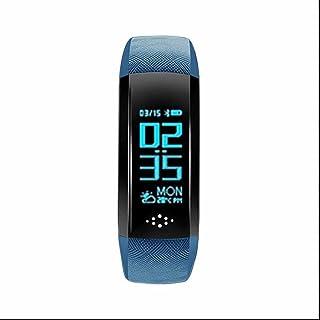 Tracker d'Activité Cardiofréquencemètre,Bumper et Anti-Scratch,Fitness Tracker,Moniteur de Fréquence Cardiaque,dormir moniteur,multifonction,avec Step tracker/compteur de calories pour Android et iOS smartphones