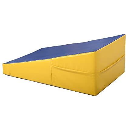 Amazon.com : Incline Gymnastics Mat Wedge Ramp Gym Sports ...