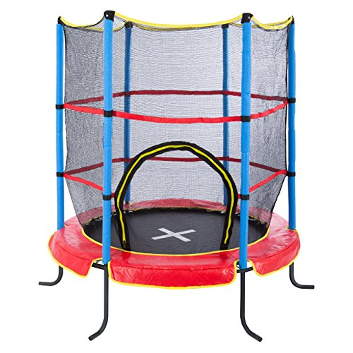 Ultega Indoor Trampoline Jumper 4.6 ft with Safety Net