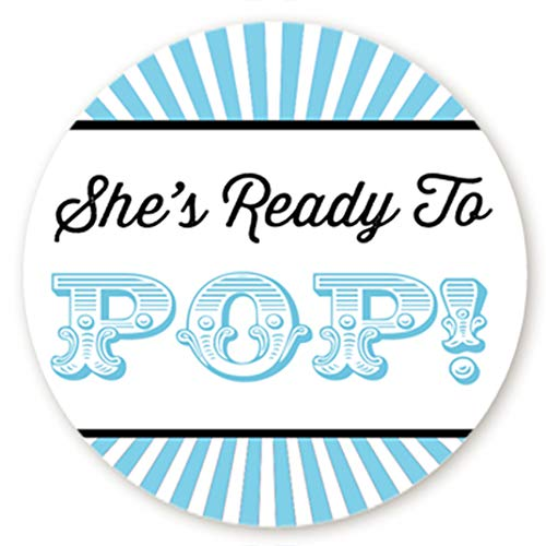 Circus Themed Ready to Pop Stickers | 48