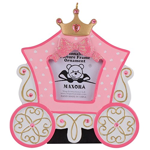 Personalized Princess Carriage Photo Frame -