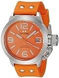 Tw Steel TW530 Reloj para Adultos, Unisex, Redondo, color Naranja
