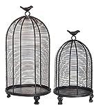 Established 98 20799 Bird Cage Lanterns, Set of 2,