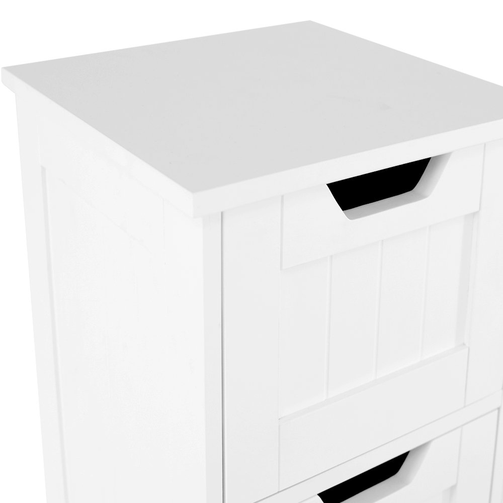 home discount bathroom 4 drawer floor standing cabinet