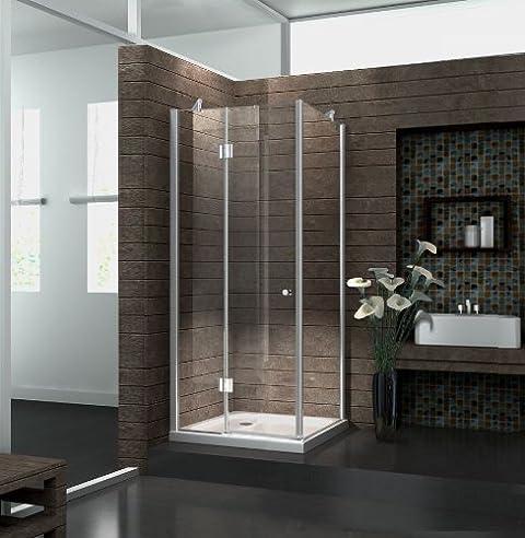 duschkabine novum 80 x 80 x 170 cm ohne duschtasse - Dusche Schiebetur Dreiteilig