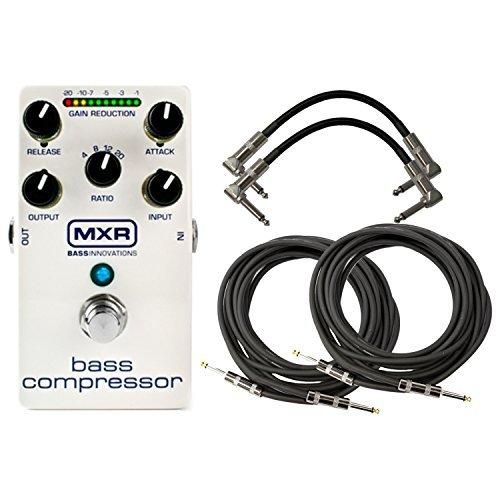 - MXR M87 Bass Compressor Pedal w/ 4 Cables