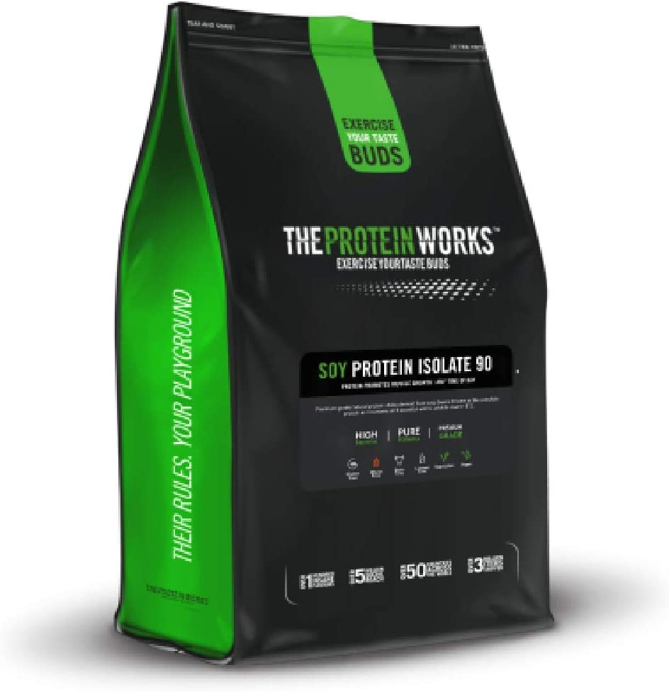 The Protein Works Soy Protein 90 Isolate Powder Shake