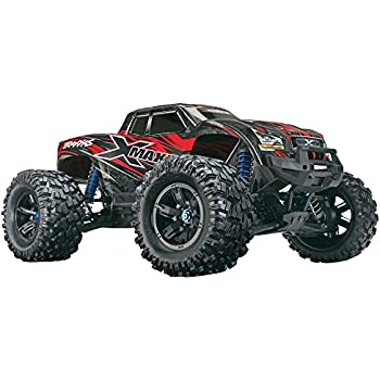 Amazon com: Traxxas 8S X-Maxx 4WD Brushless Electric Monster