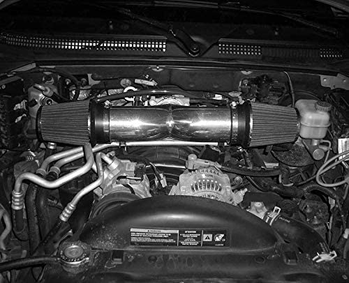 4.7L V8 ENGINE RED PERFORMANCE DUAL//TWIN AIR INTAKE KIT FIT 2000-2002 DODGE DAKOTA DURANGO 3.7L V6