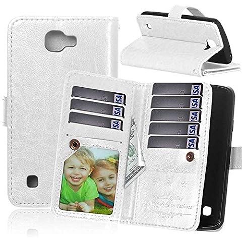 LG Ultimate 2 Case LG L41C Ultimate 2 Wallet Case,Bat King [Multi Card Wallet] Premium Magnetic PU Leather Wallet with Built-in 9 Card Slots Folio Flip Case for LG L41C Ultimate (Lg L41c Phone Case Wallet)