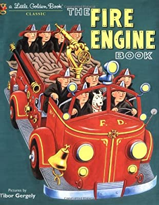 The Fire Engine Book Little Golden Book by Golden Books