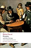 Pensées and Other Writings, Blaise Pascal, 0199540365
