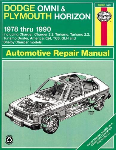 Omni Owners Manual (Dodge Omni and Plymouth Horizon, 1978-1990 (Haynes Manuals))