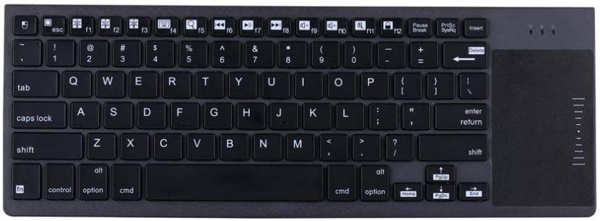 DADUIZHANG Profession Game Mechanical 10 Inch Universal Wireless Bluetooth Keyboard with Touchpad for Tabletblack