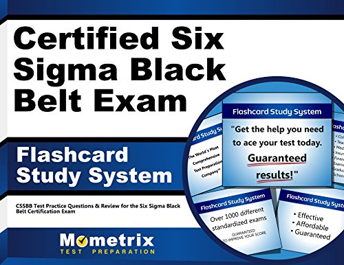 Certified Six Sigma Black Belt Exam Flashcard Study System: CSSBB Test Practice Questions & Review for the Six Sigma Black Belt Certification Exam (Cards)