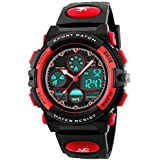 eYotto Kids Sports Watch, Multi-Function Boys Girls Digital Wristwatch Waterproof LED Alarm Stopwatch