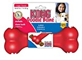 Cheap KONG Goodie Bone Dog Toy, Large, Red